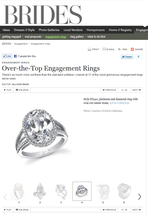 BRIDES.com Over-the-Top Engagement Rings
