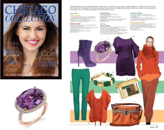 Chicago Collection Magazine Color Trends
