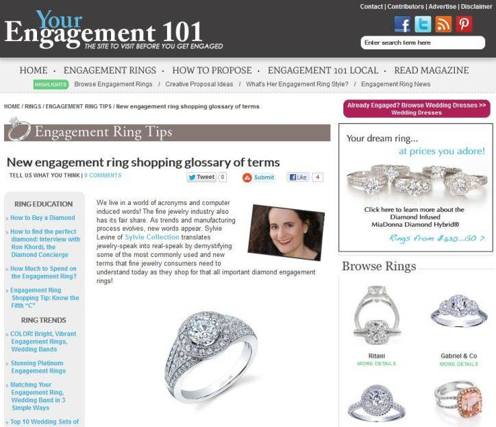 Sylvie Translates Engagement Ring Shopping Terms
