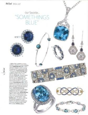Sylvie Placements in the Fall Issue of The Knot