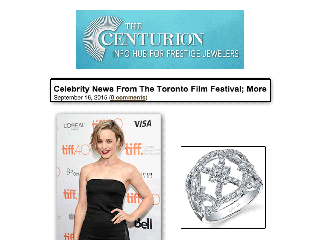"""""""The Centurion"""" Posts Rachel McAdams Wearing White Gold Fashion Ring From Sylvie Collection!"""
