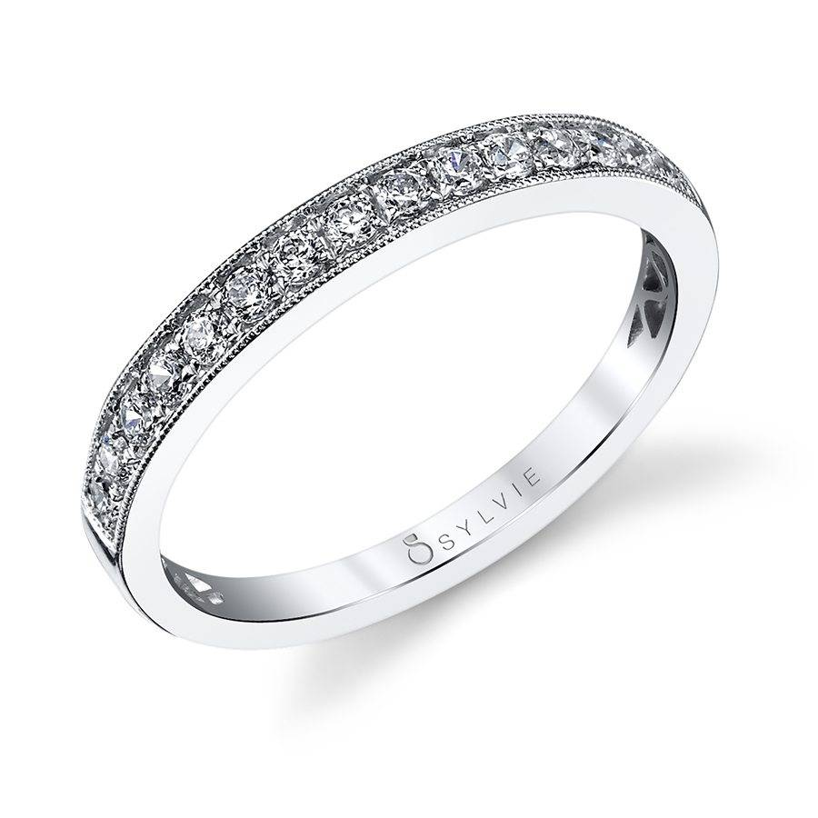 Curved Wedding Bands: Curved Wedding Band