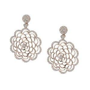 Modern Diamond Earrings