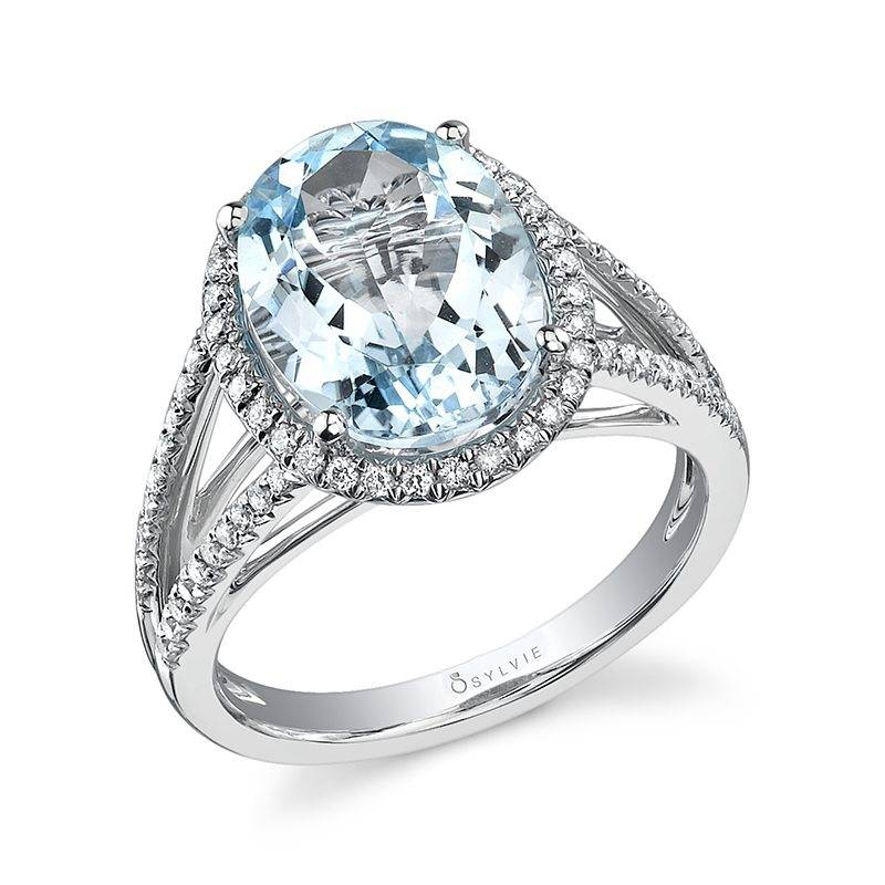 Blue Topaz Fashion Ring