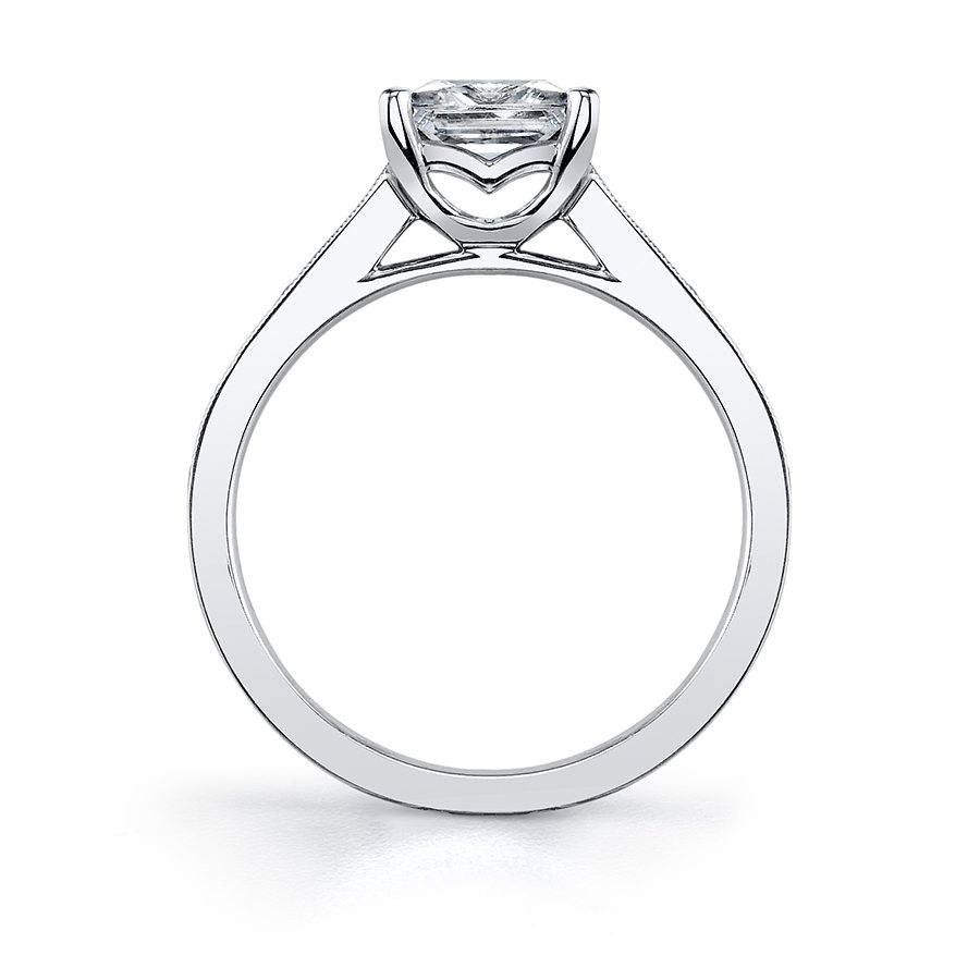 Félicia - Solitaire Princess Cut Engagement Ring