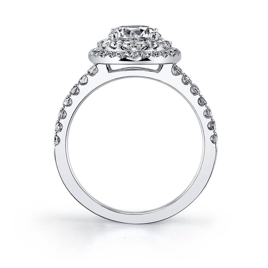 Cadencia - Double Halo Engagement Ring