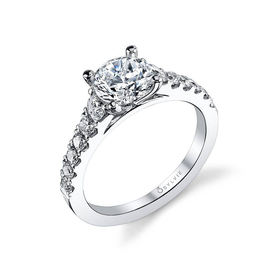 Luna - Classic Solitaire Diamond Engagement Ring