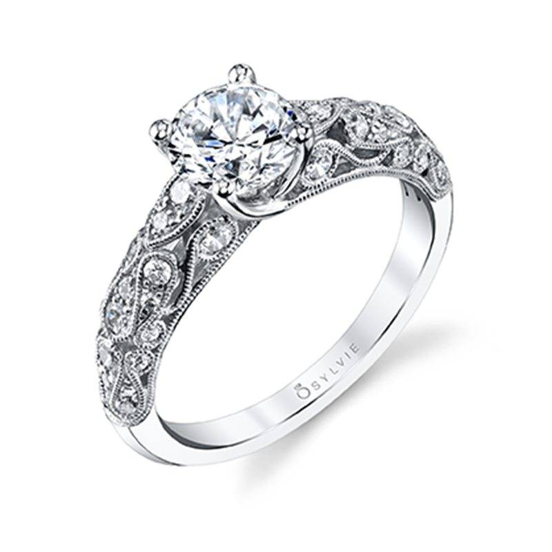 Louise - Vintage Inspired Engagement Ring