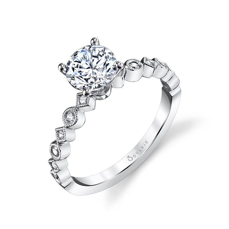 Bellamy - Round Solitaire Engagement Ring