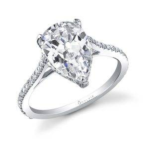 Pear Shaped Solitaire Engagement Ring_SY483-0038/APL