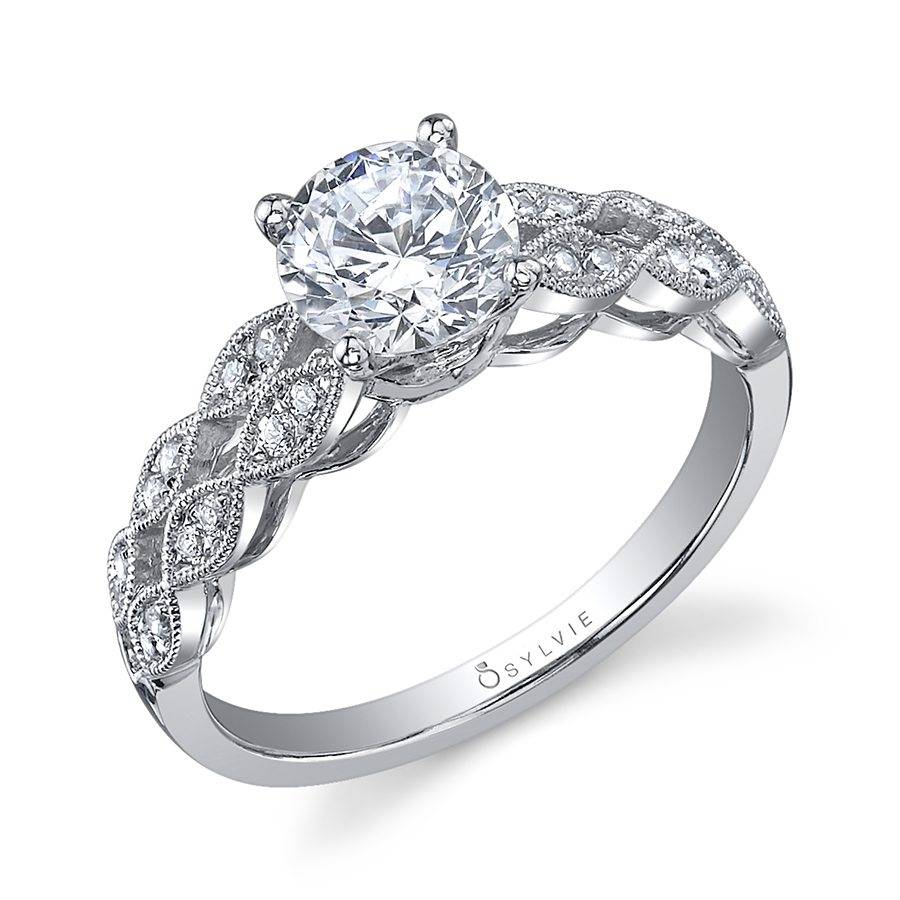 Cheyanne - Round Solitaire Engagement Ring