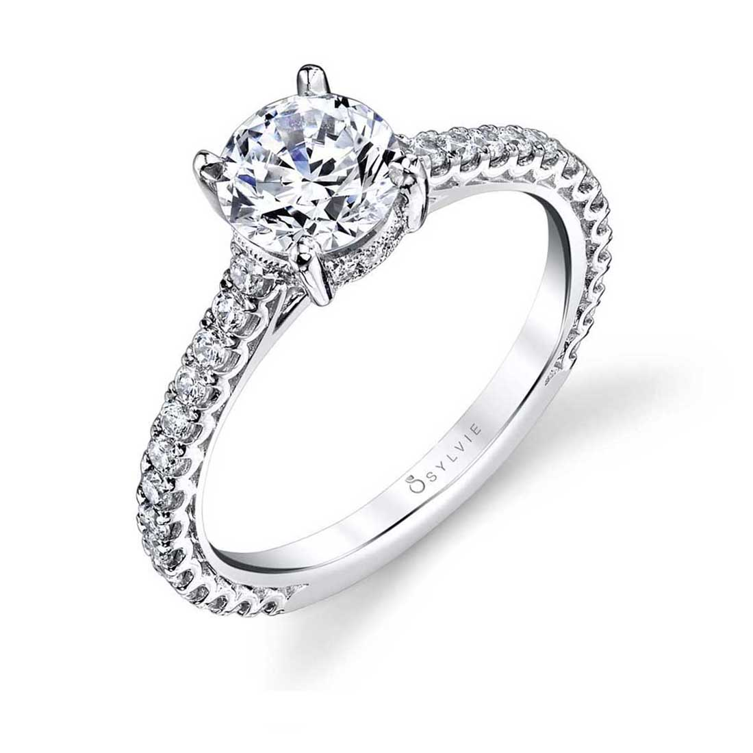 Solitaire Engagement Ring S1445–Sylvie
