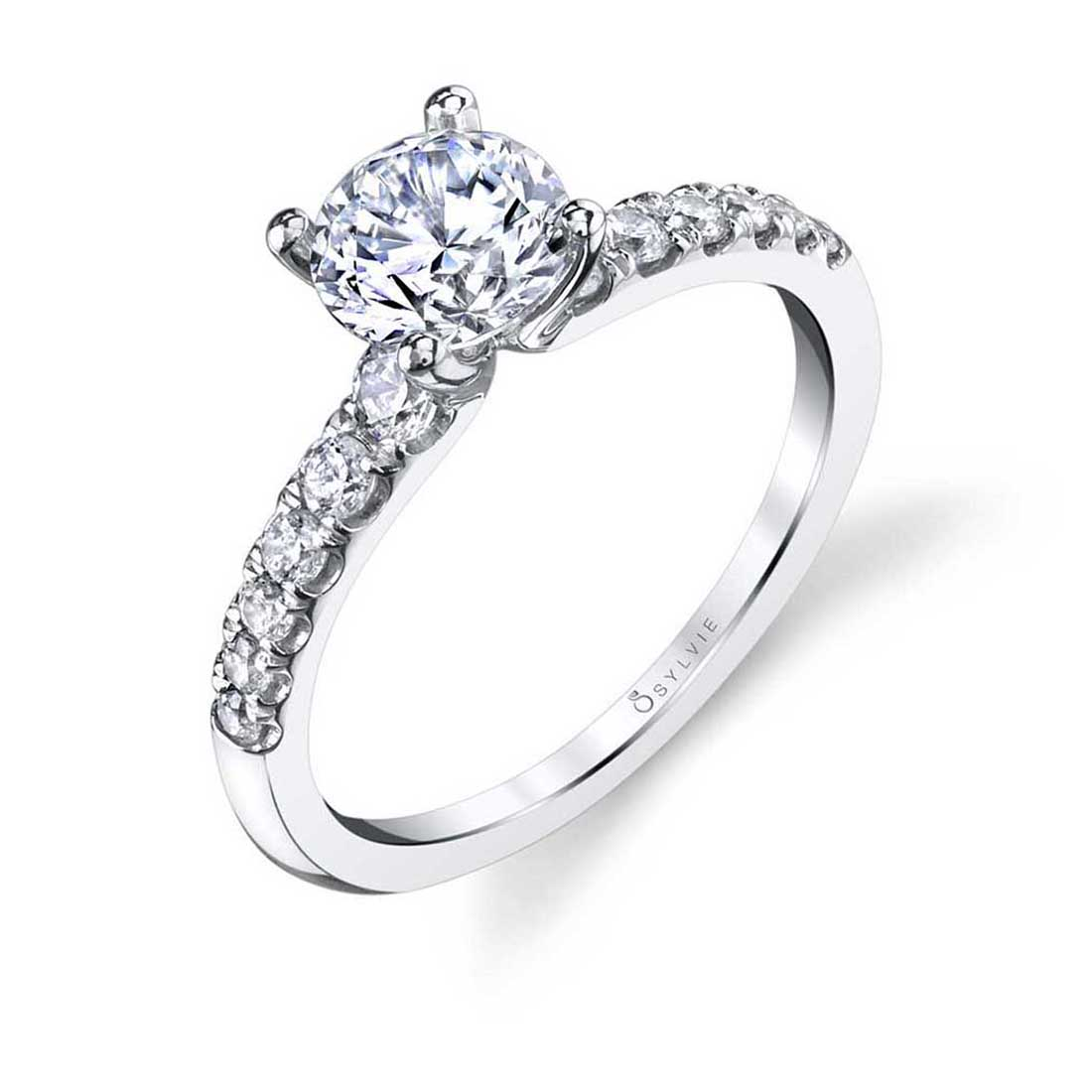 Solitaire Engagement Ring S1499–Sylvie