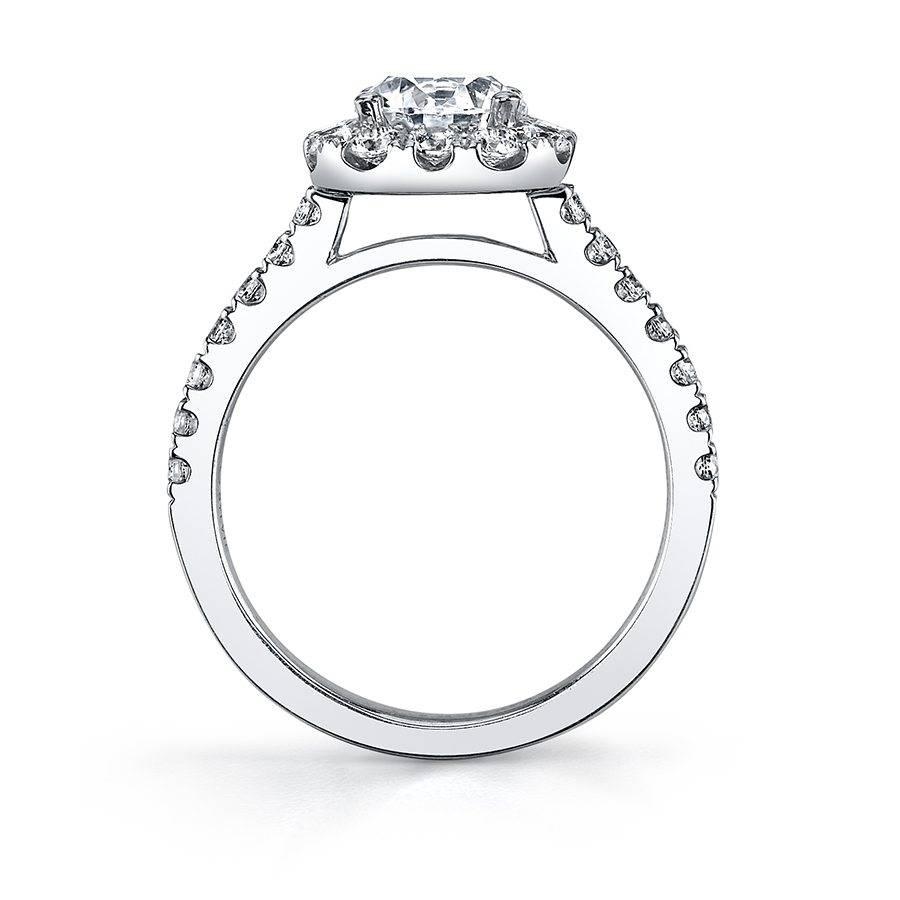 Bertie - Marquise Cut Halo Engagement Ring