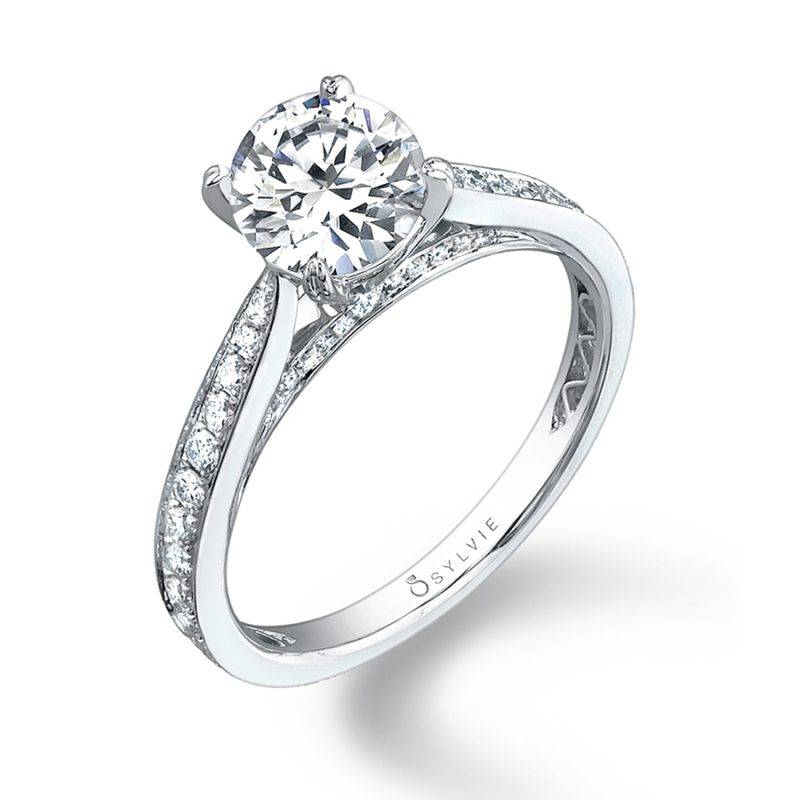 Ally - Modern Solitaire Engagement Ring