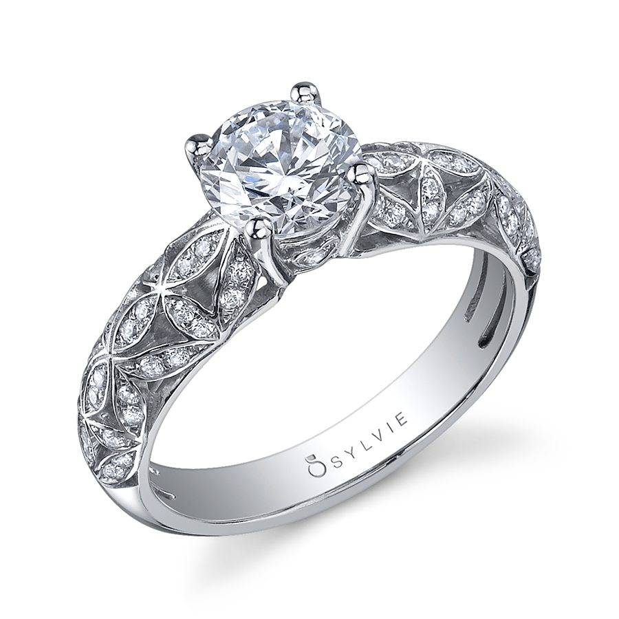 Jeslyn - Vintage Inspired Solitaire Engagement Ring