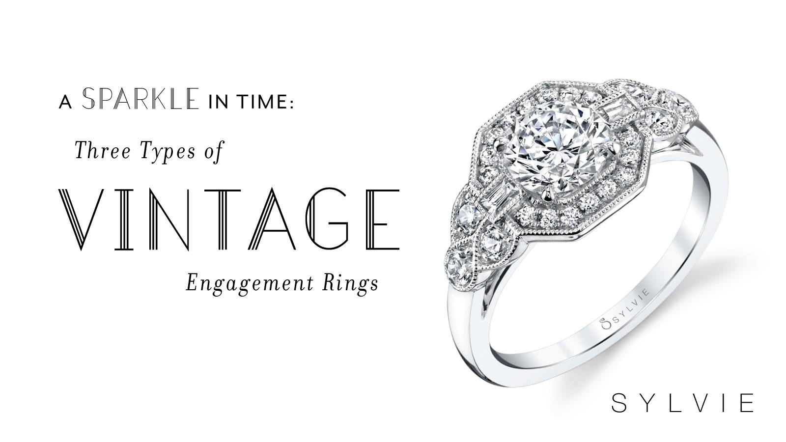 3 Types of Vintage Rings You Should Know About