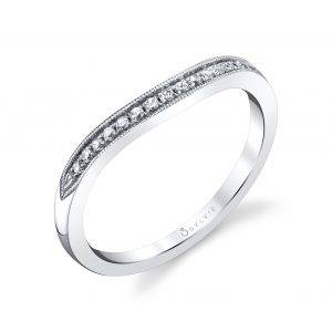 Profile Image of a Vintage Inspired Double Halo Engagement Ring