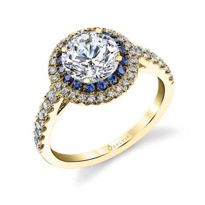 Double-halo-engagement-ring-S4102-RG-Sylvie