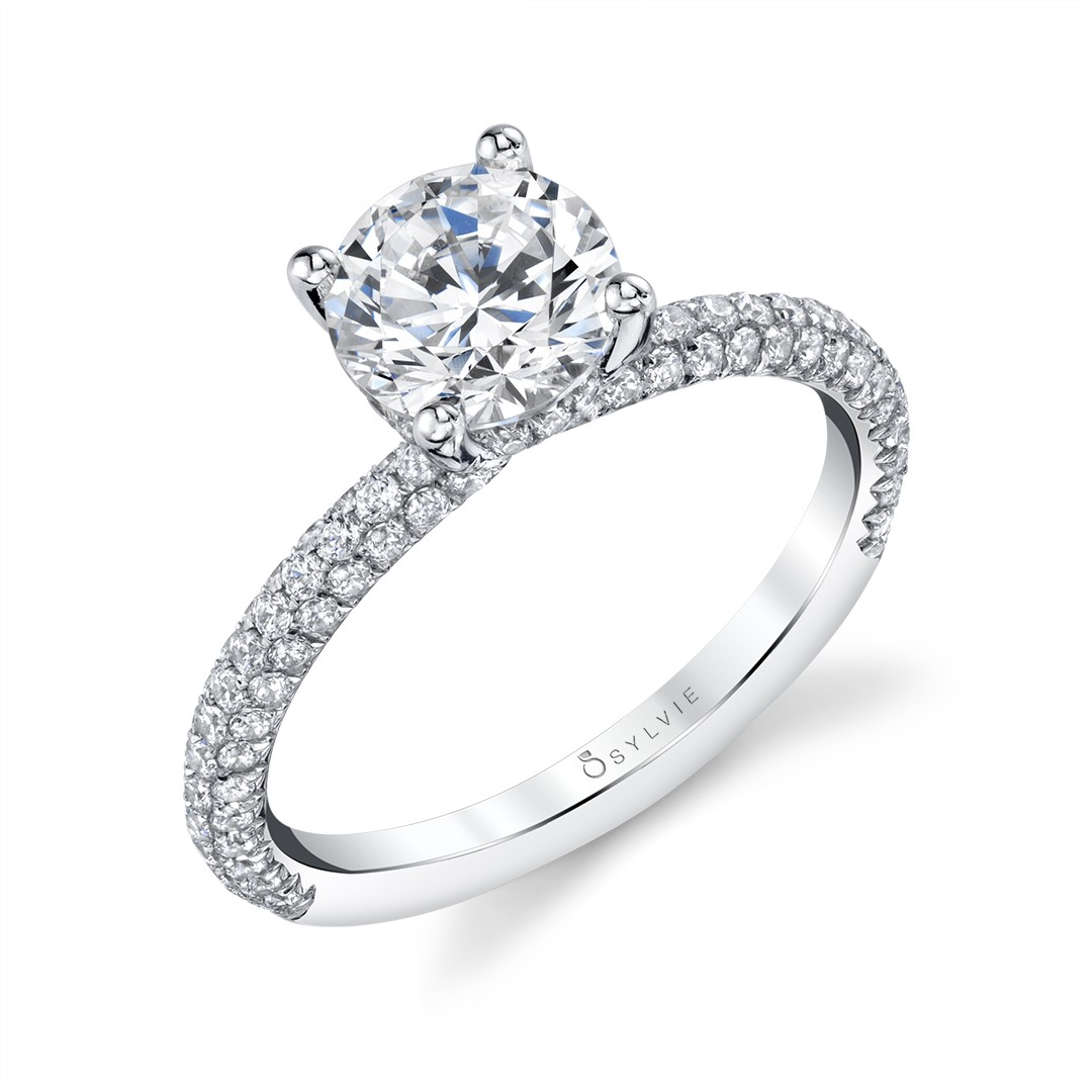 Solitaire Engagement Ring_S1633 1CT RB.Sylvie