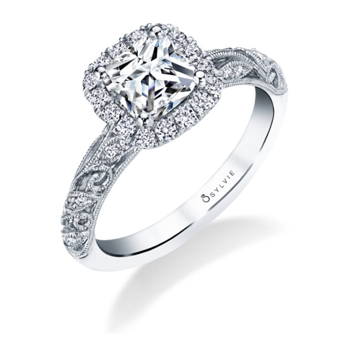 vintage engagement ring S1747-Sylvie