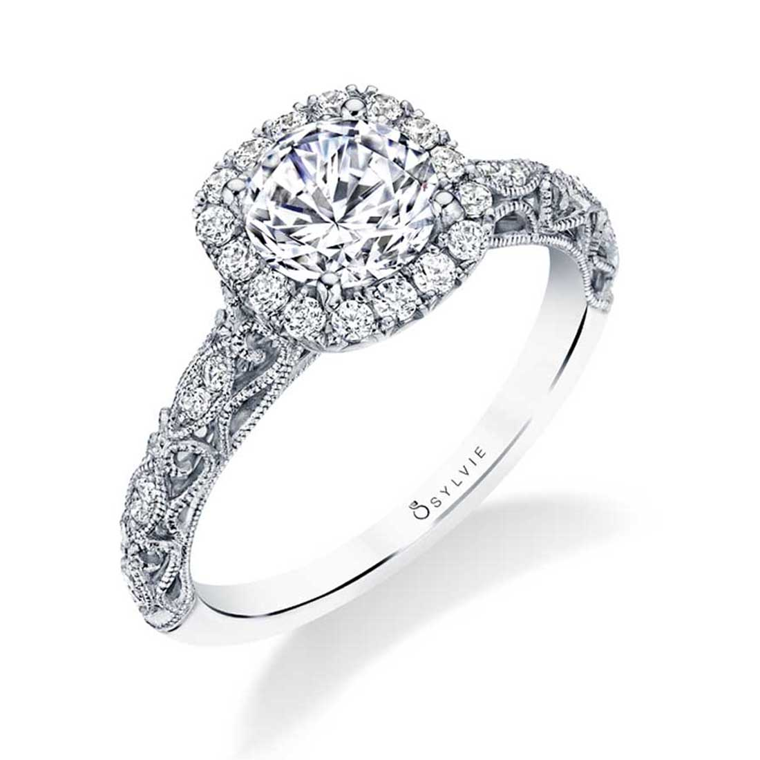 vintage engagement ring S1730-Sylvie