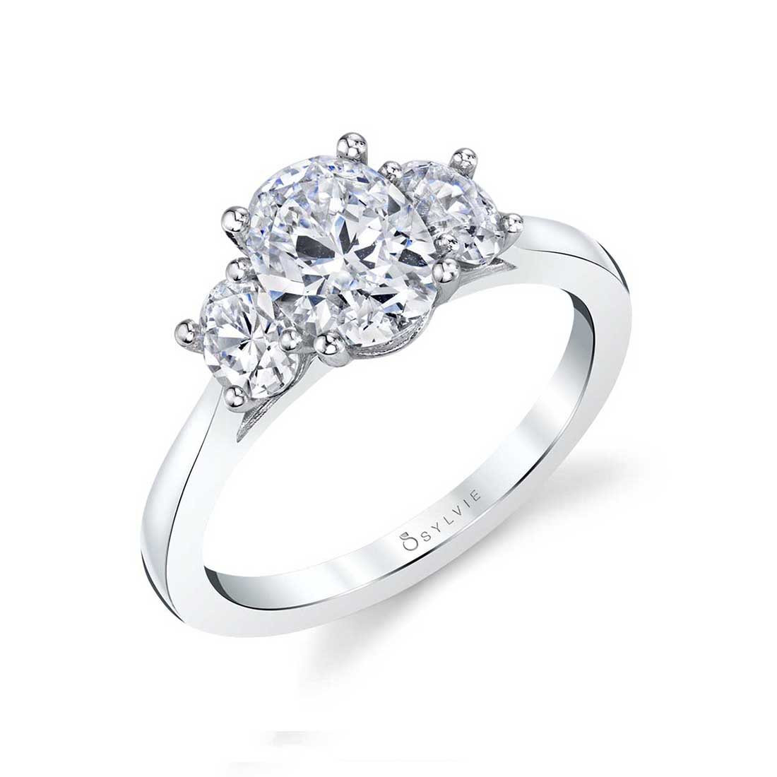 oval engagement ring S3022S