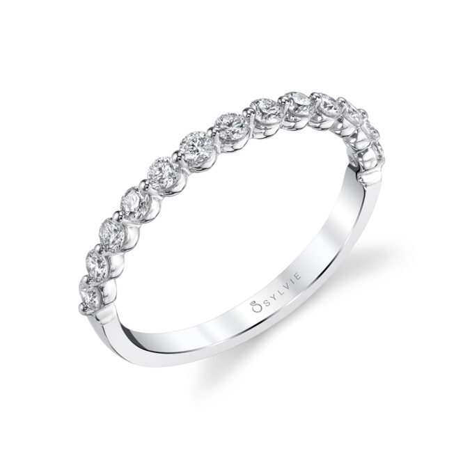 Stackable Wedding Band B1P13-0042