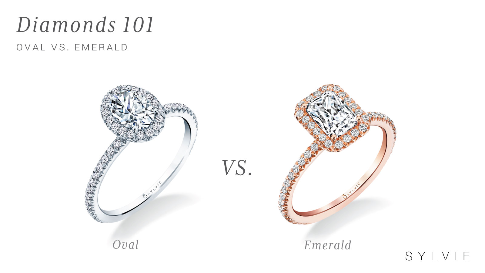 Oval Vs Emerald Engagement Rings