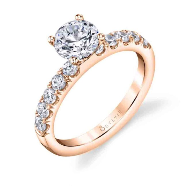 Solitaire engagement ring SBUP10-0050-RG