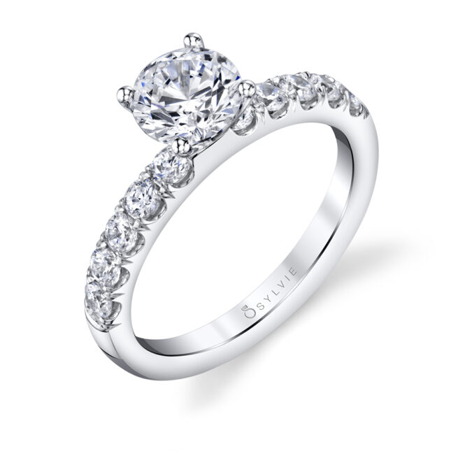 Solitaire engagement ring SBUP10-0050