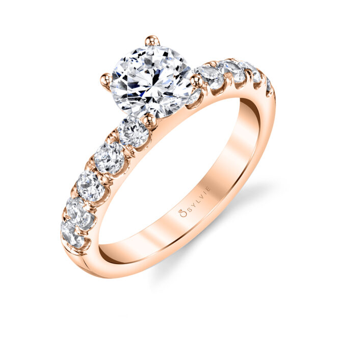 Solitaire Engagement Ring SBUP10-0070-RG
