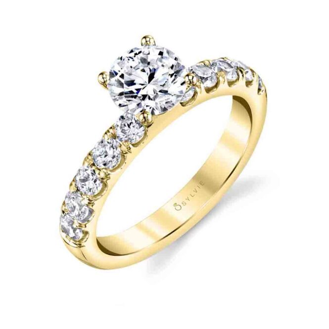 Solitaire Engagement Ring SBUP10-0070-YG