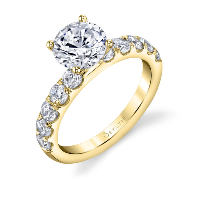 Solitaire Engagement Ring SBUP10-0140-YG