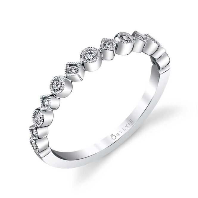 Modern Stackable Wedding Band