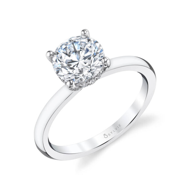 S2393 Solitaire ring
