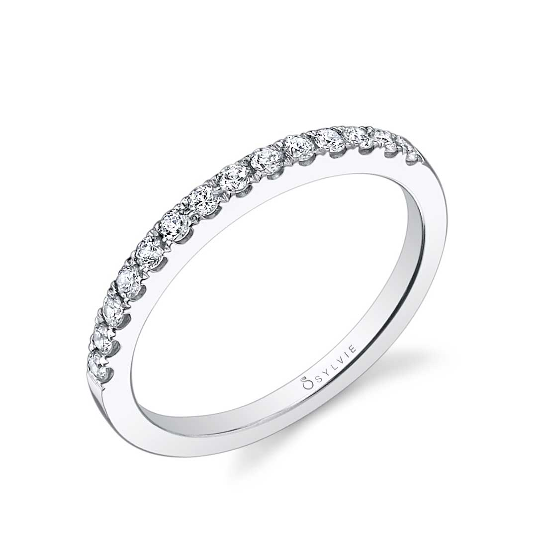 Petite Princess Cut Halo Engagement Ring_SY697-0033/A4W