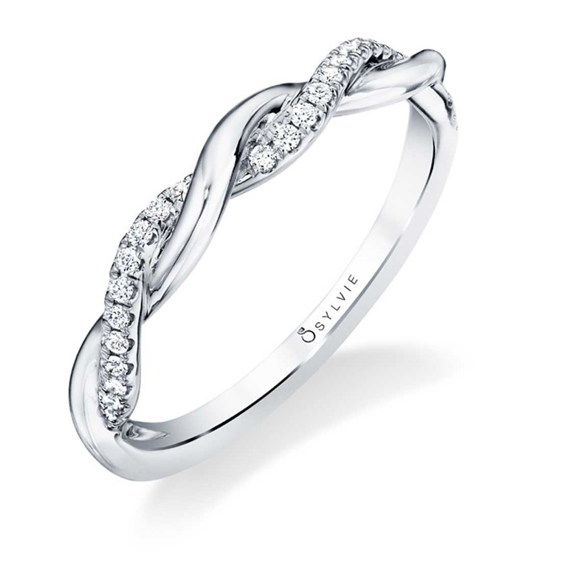 Spiral Wedding Band