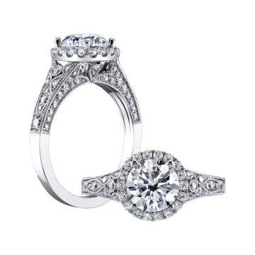 9868a162f717d Unique Engagement Rings | Sylvie Collection