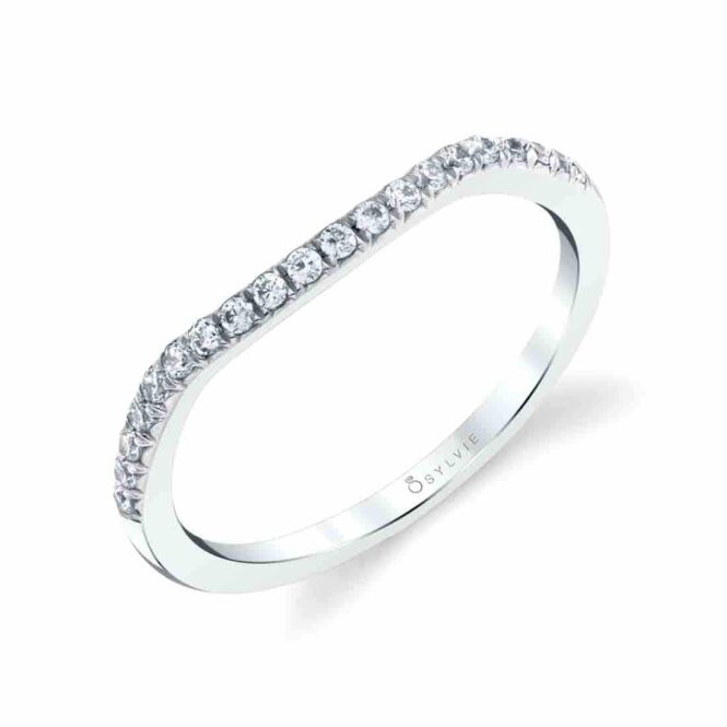 Classic Shared Prong Wedding Band