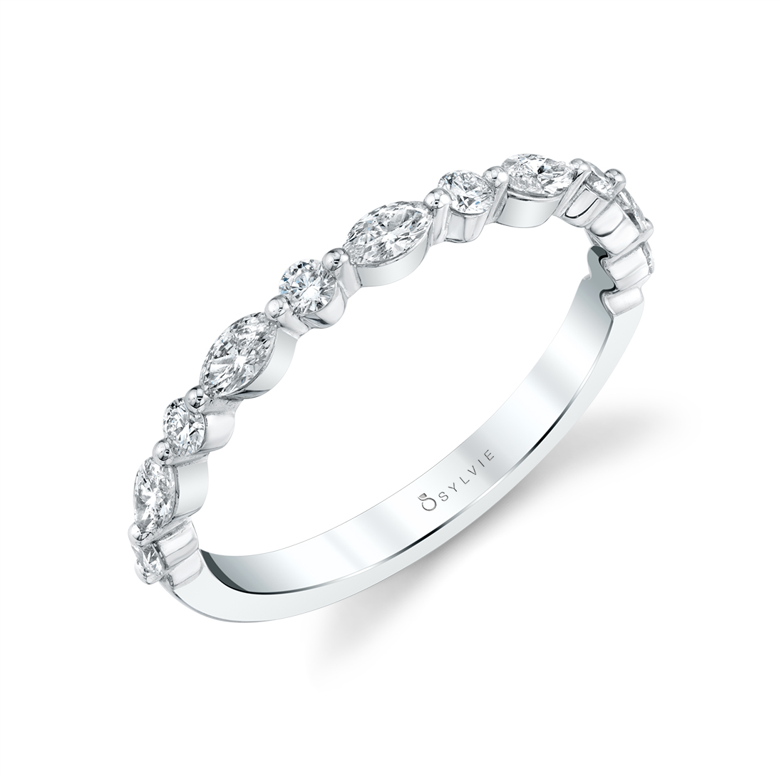 Stackable Wedding Band -50A4W