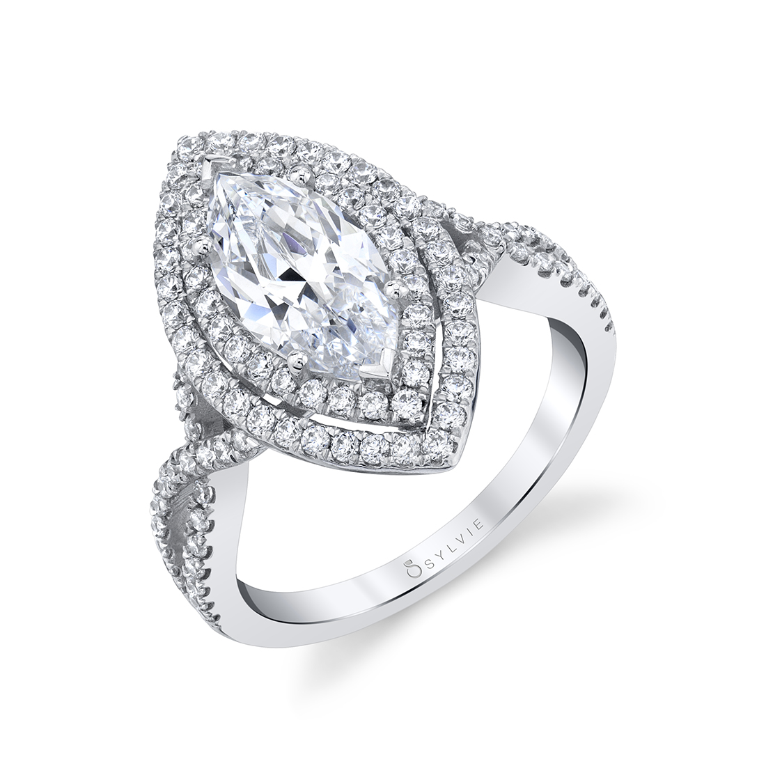 Profile Image of a UNIQUE MARQUISE ENGAGEMENT RING
