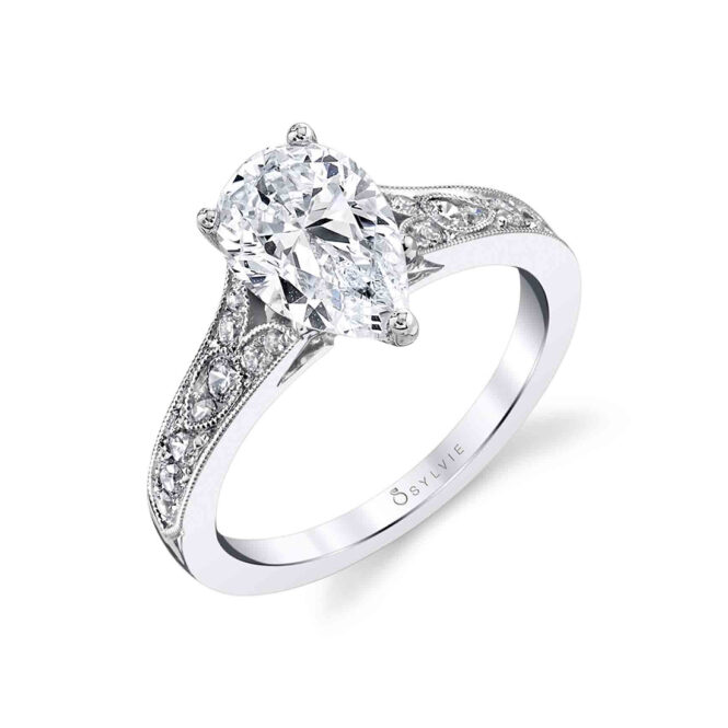 S1389 - CHEREEN - VINTAGE ENGAGEMENT RING