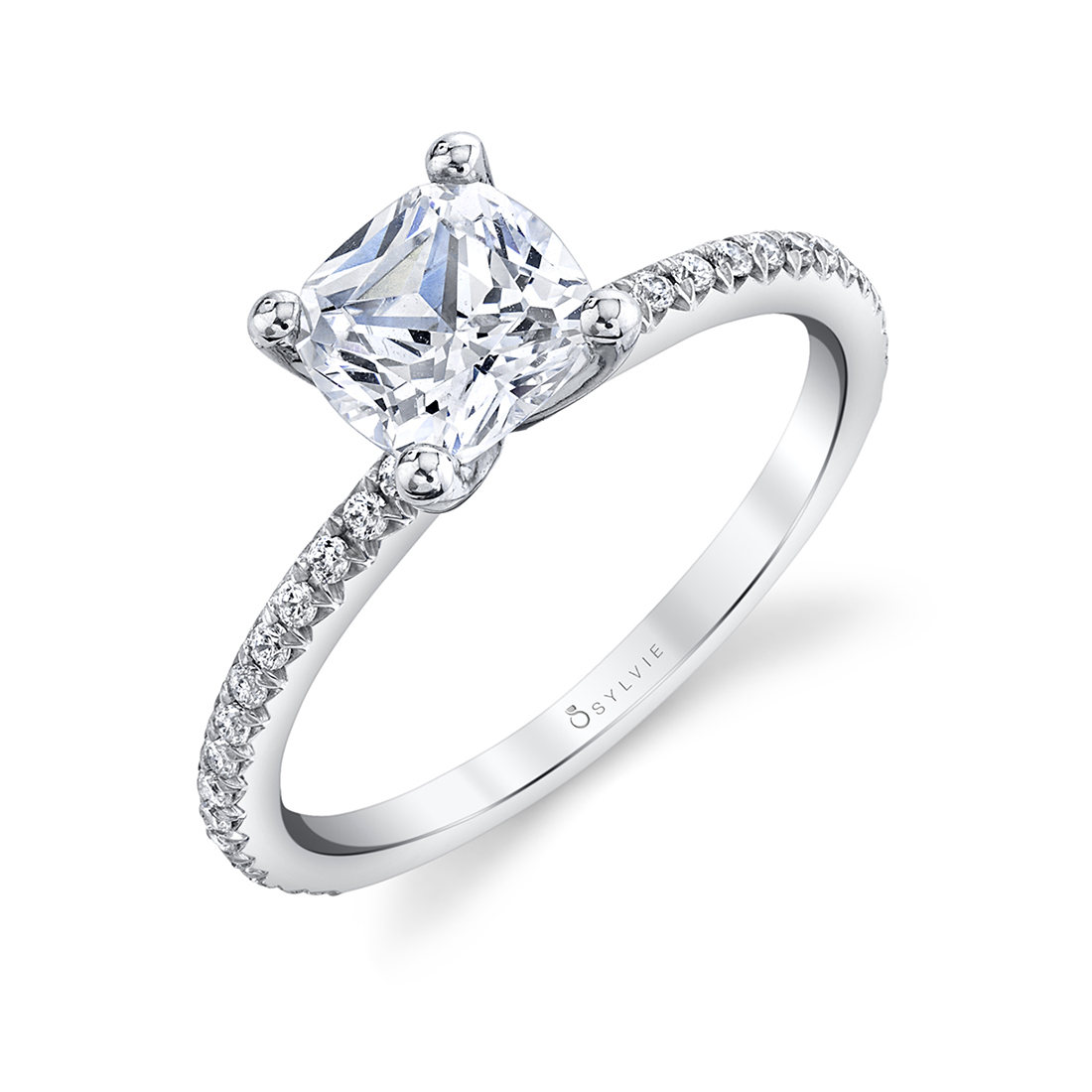 Solitaire Engagement Ring - S1093 - Sylvie