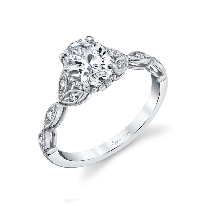 vintage engagement ring sylvie