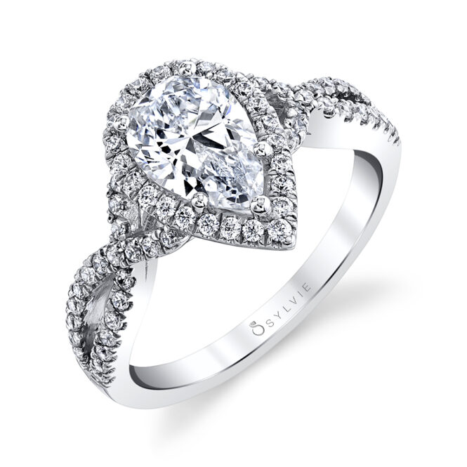 pear-shaped-engagement-ring-SY260 PS