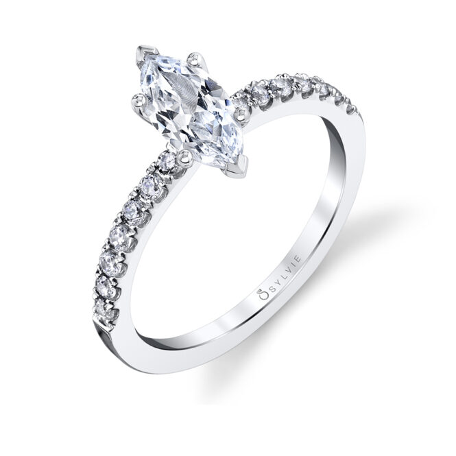 Marquise Engagement Ring-S1498-MQ