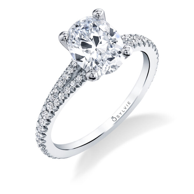 Oval Engagement Ring-