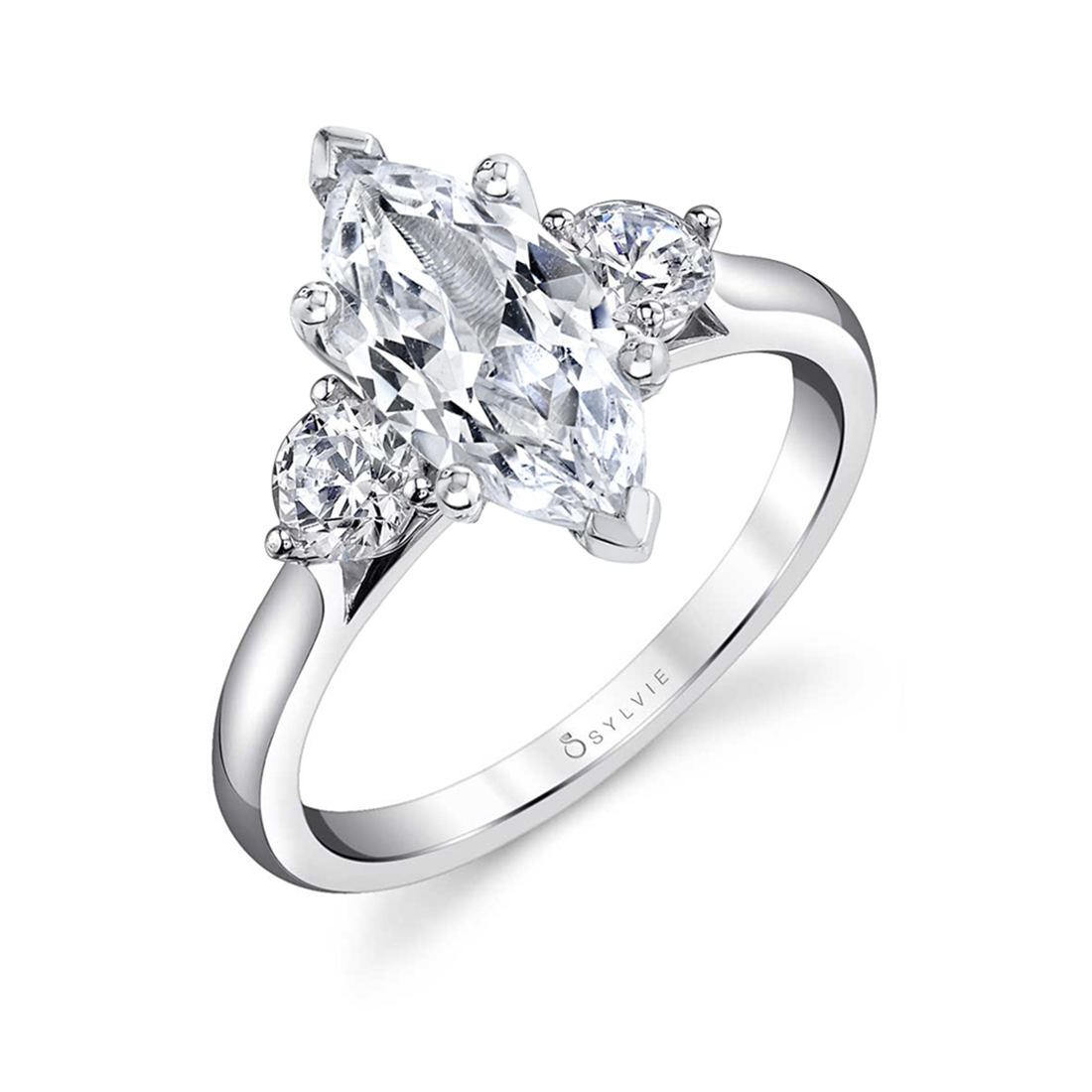 marquise engagement ring sylvie