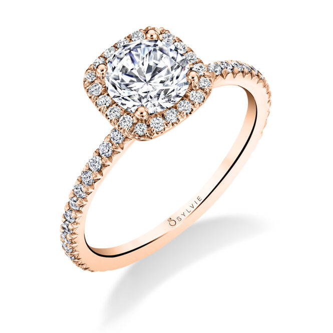 halo engagement ring S1793-RB-CH-RG-Sylvie